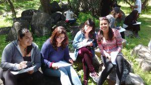 Campamento de Ciencias con la Generación 2014.