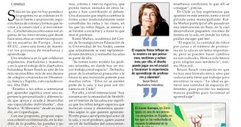 El Mercurio, Educación, Sebastián Howard