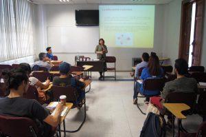 Presentación de Natalia Salas en el Congreso CUECH.