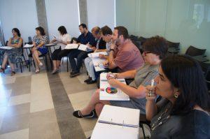 Algunos de los mentores que participan en el proyecto.