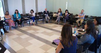 La reunión se realizó en la Facultad de Educación UDP.