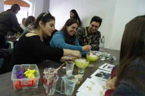 Se realizaron seis talleres formativos durante los dos días de la actividad.