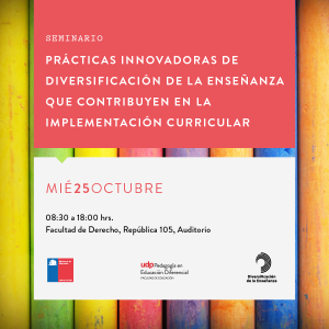Bajadas seminario educación_ Instagram post