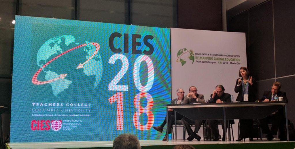 Intervención de la decana Paula Louzano en CIES 2018.